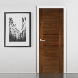 Image: Seville Prefinished Walnut Door from Deanta UK