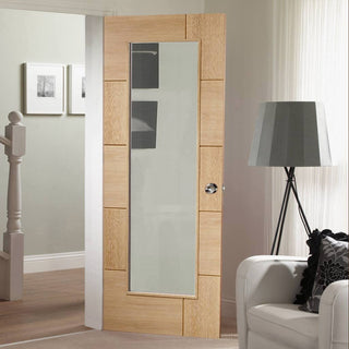 Image: Ravenna flush contemporary style interior door design