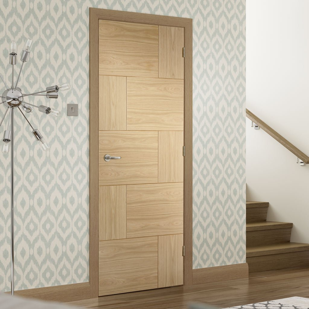 Bespoke Ravenna Oak Flush Door - Prefinished