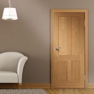 Image: Victorian shaker interior door from XL Joinery