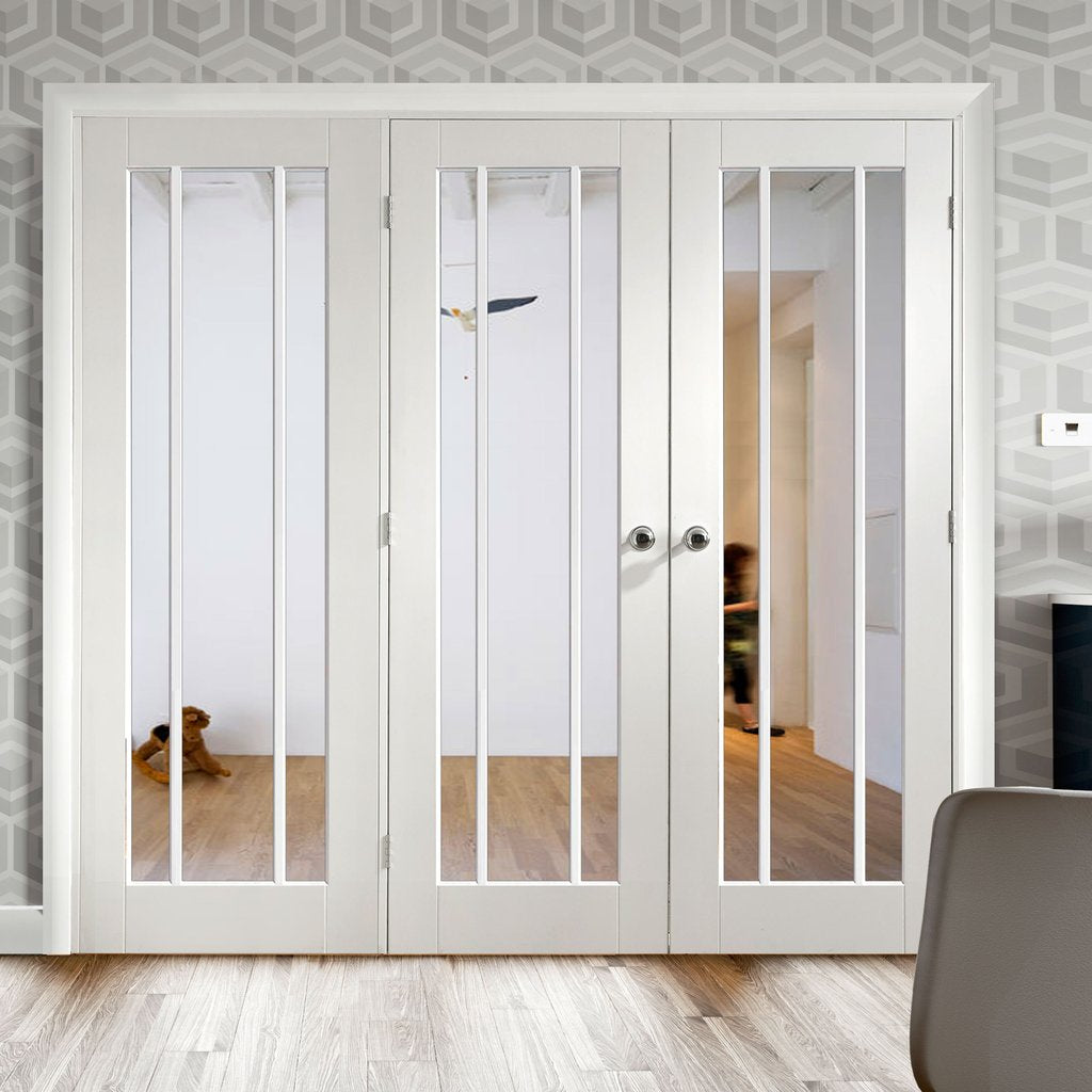 Easi-Frame White Door Set - GWPWOR-COEOP15L - 2005mm Height - 1966mm Wide.