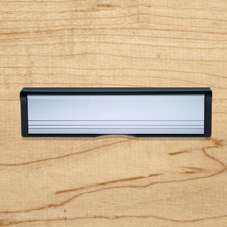 Image: Intumescent Letterbox 305mm Size - 5 Colour Options