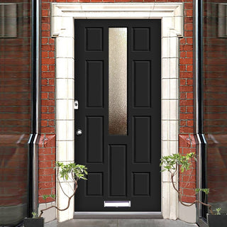 Image: Made to Order Exterior Islay Door - Fit Your Own Glass