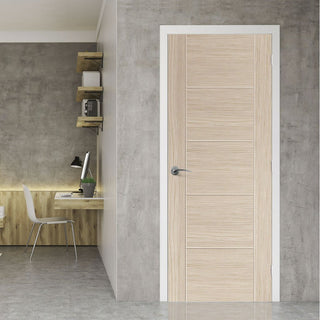 Image: J B Kind Laminates Ivory Painted Door - Prefinished