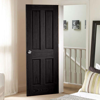 Image: Designer varnished interior door in five colour options