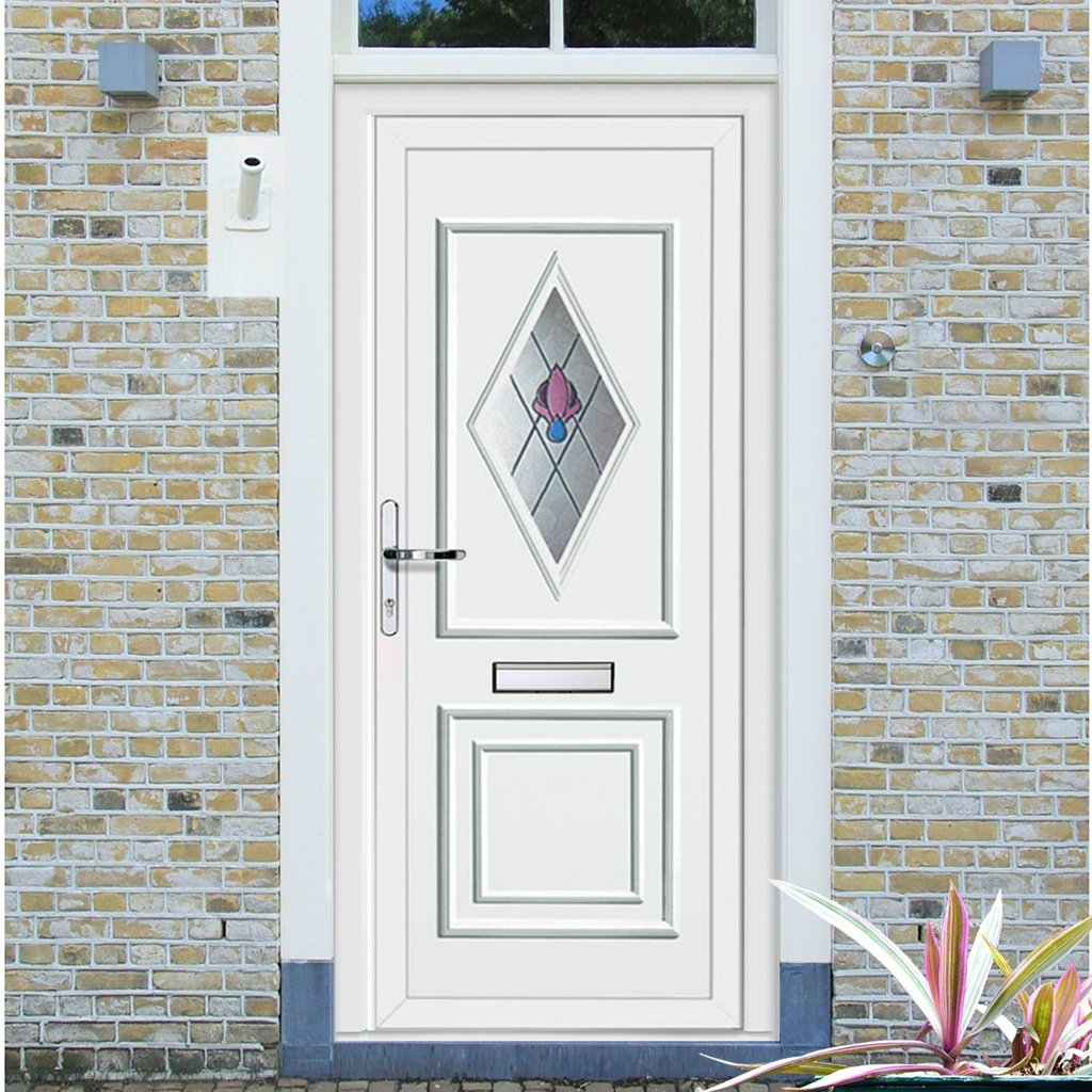 External Leven One Jewel Pvc Door
