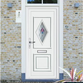 Image: External Leven One Jewel Pvc Door