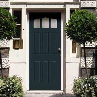 Image: Made to Measure Exterior Mull Door - Fit Your Own Glass