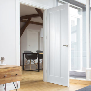 Image: Kielder Lightly Grained PVC Door