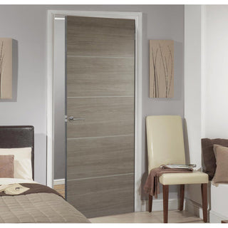 Image: Laminate Santandor Light Grey Door - Prefinished