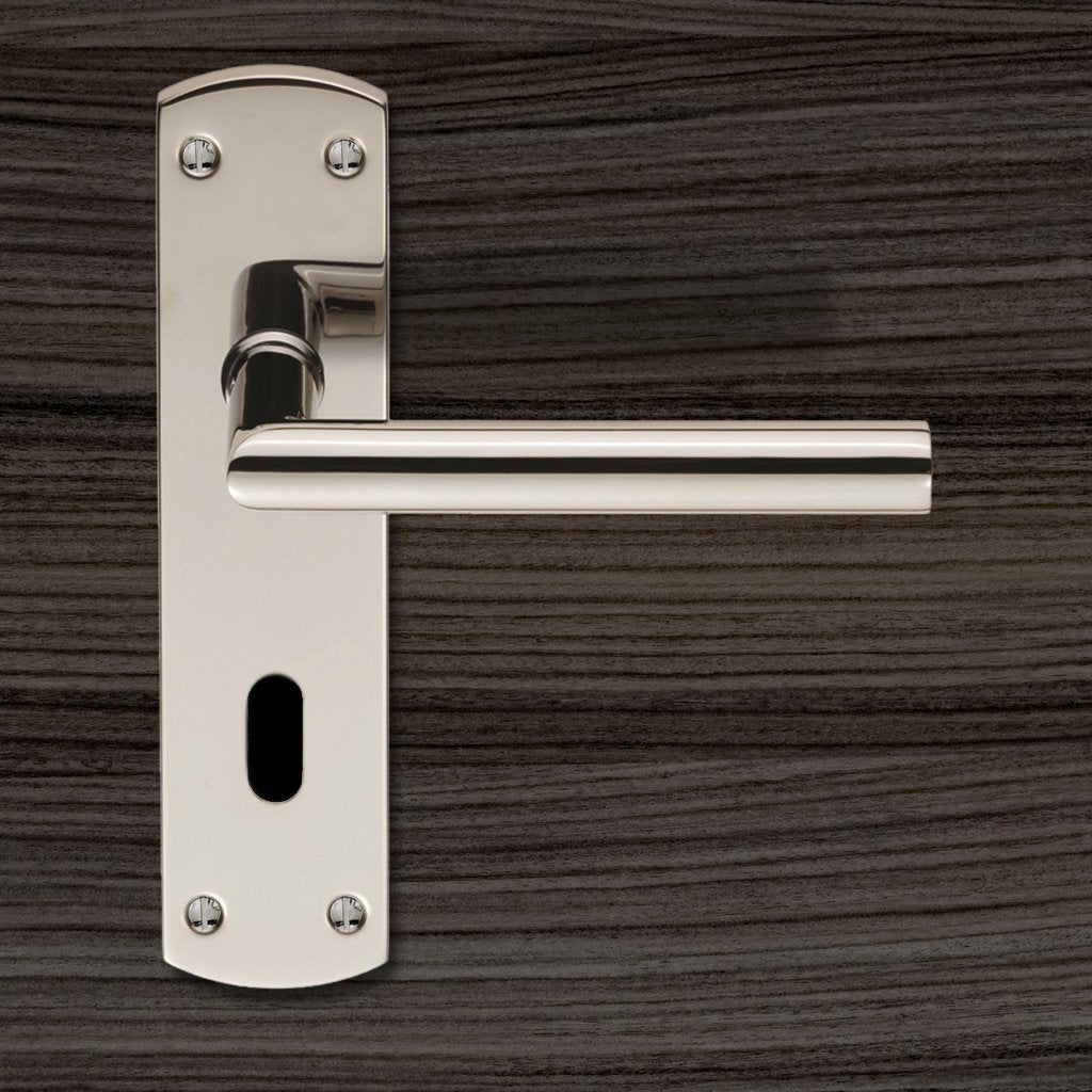 Steelworx CSLP1162P Mitred Lever Lock Handles - 2 Finishes