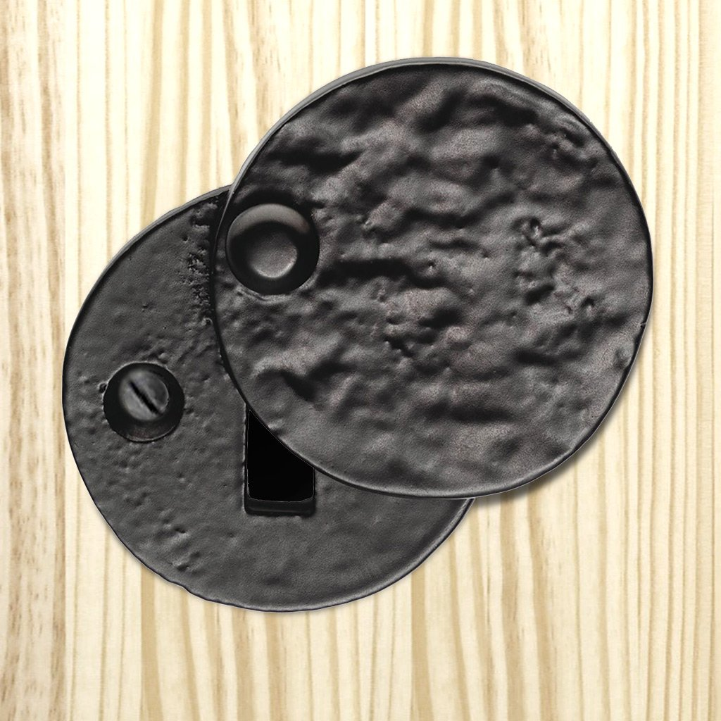 Antique Black Ludlow LF5546 Round Covered Escutcheon - Standard Profile - Size 40mm
