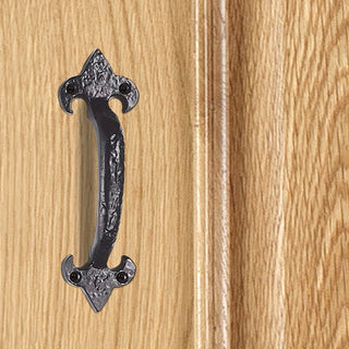 Image: Antique Black Ludlow LF5574A Pull Handle - 3 Sizes