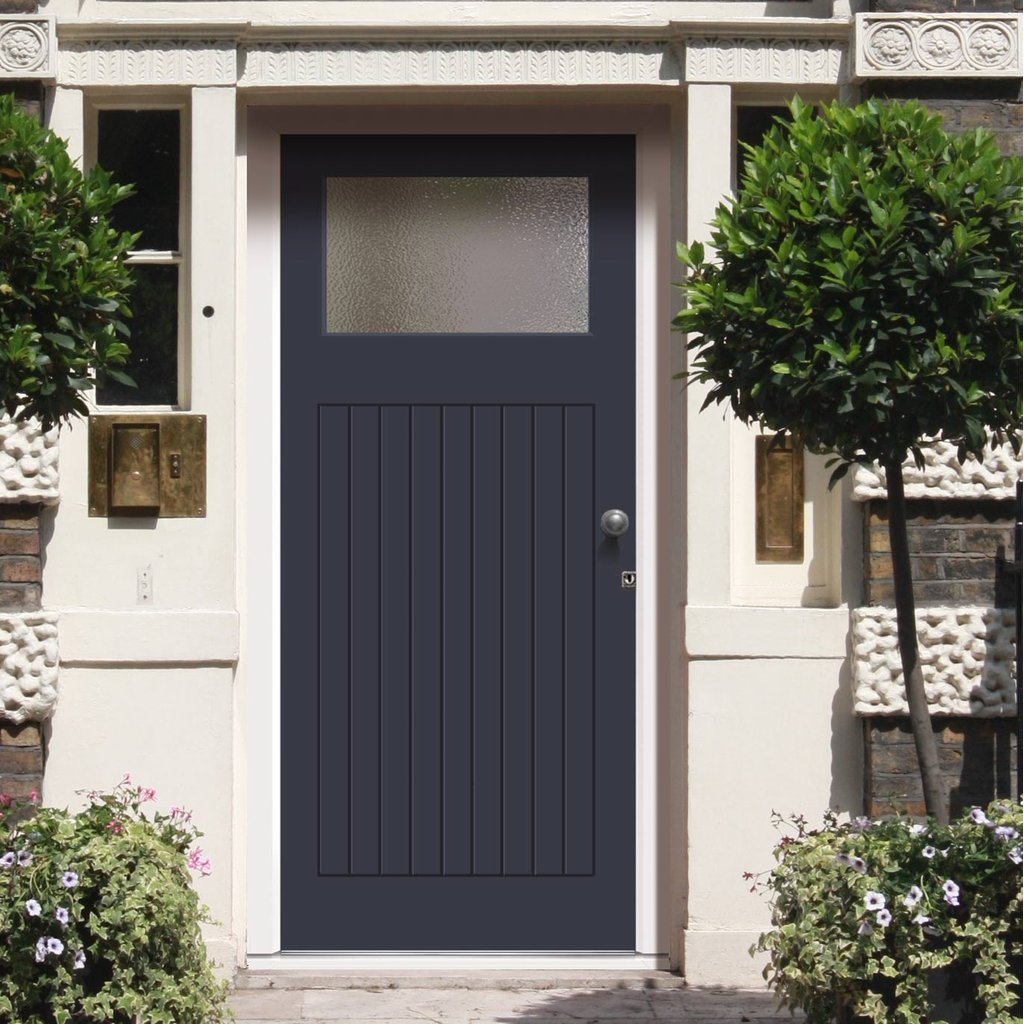 Made to Measure Exterior Lismore Door - Fit Your Own Glass
