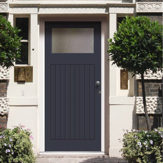 Image: Made to Measure Exterior Lismore Door - Double Glazing