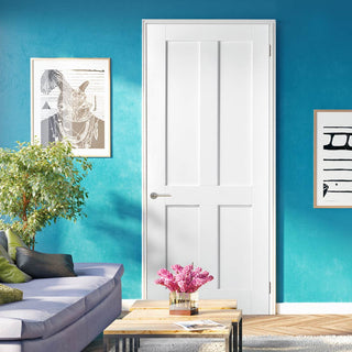 Image: london 4p door white primed