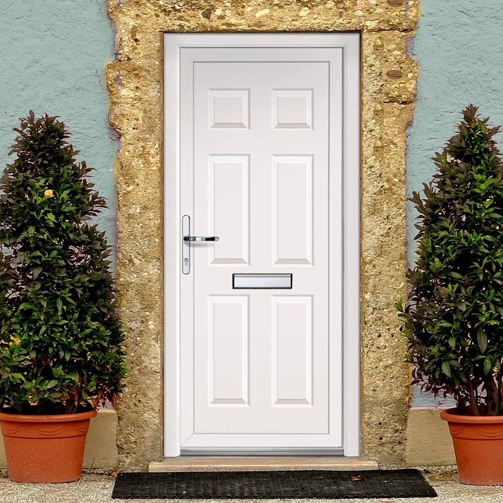 Exterior Lynne Solid Upvc Door