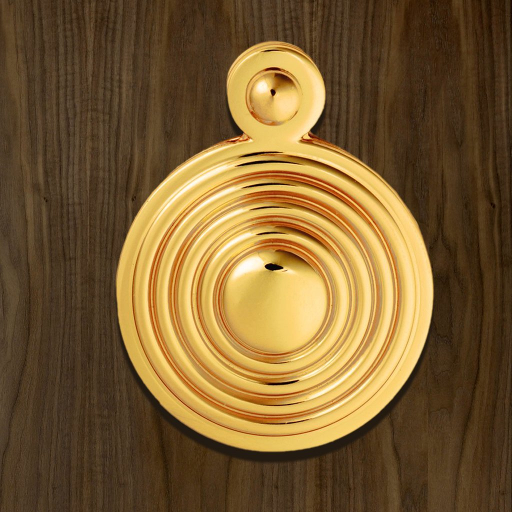 M1000 Queen Anne Covered Escutcheon - 3 Finishes