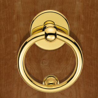 Image: M37 Victorian Ring Door Knocker - 3 Finishes