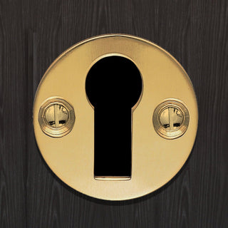 Image: M41 Victorian Open Escutcheon, Standard Profile - 3 Finishes