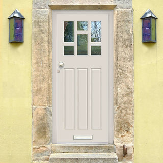 Image: Made to Measure Exterior Dayna Door - Double Glazing