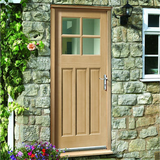 Image: Made to Measure Exterior Skye Door - Fit Your Own Glass
