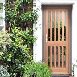Image: Windsor Exterior Hardwood Door - Fit Your Own Glass