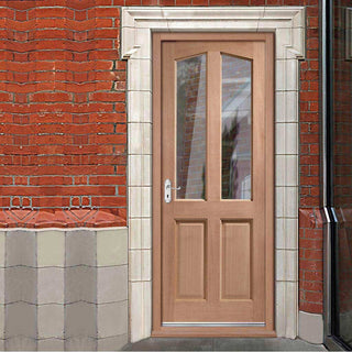 Image: Richmond Hardwood Door - Toughened Double Glazing