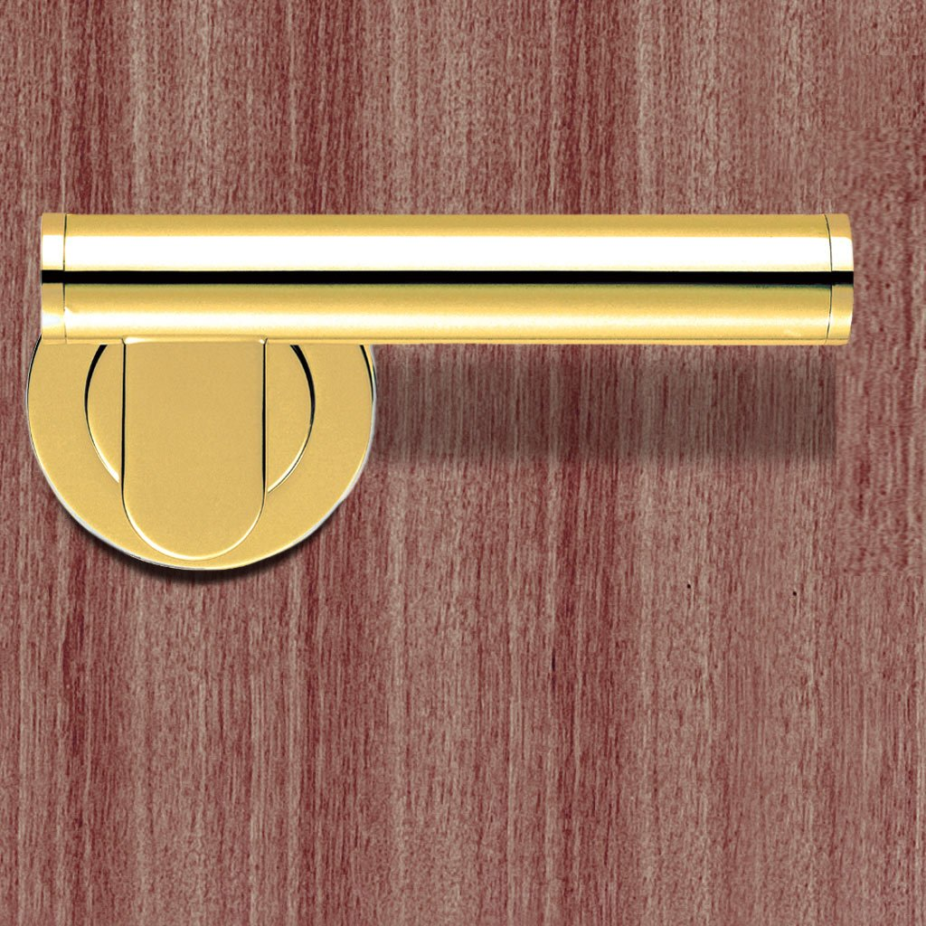 SALE - AQ6 Esprit Lever Latch Handles on Round Rose