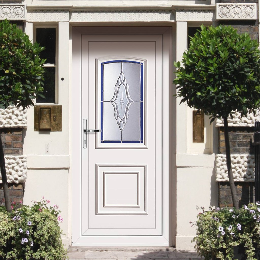 External PVCU Maree Classic Lyra Door