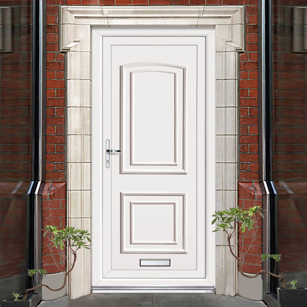 Exterior Maree Solid Pvc Door