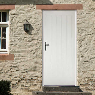 Image: GRP White Mexicano Composite Door
