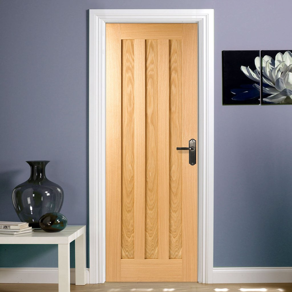 Bespoke Idaho Oak 3P Door