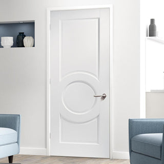 Image: Montpellier 3 Panel Door - White Primed