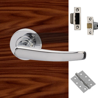 Image: Morava Fire Door Handle Pack