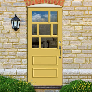 Image: Made to Measure Exterior Northumberland Door - Fit Your Own Glass