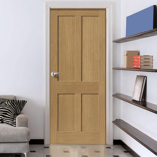 Image: Rushmore Oak Door with Flat Panels