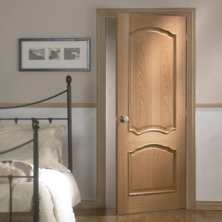 Image: door set kit louis oak door raised mouldings