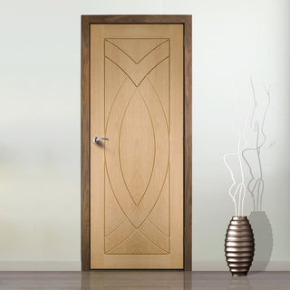 Image: Treviso Oak Flush Door - From Xl Joinery
