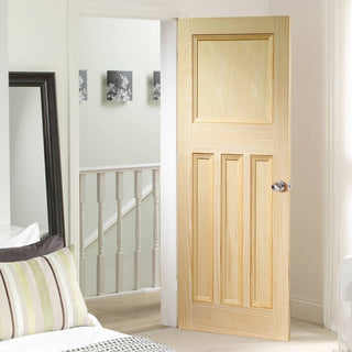 Image: Panelled traditional English interior door