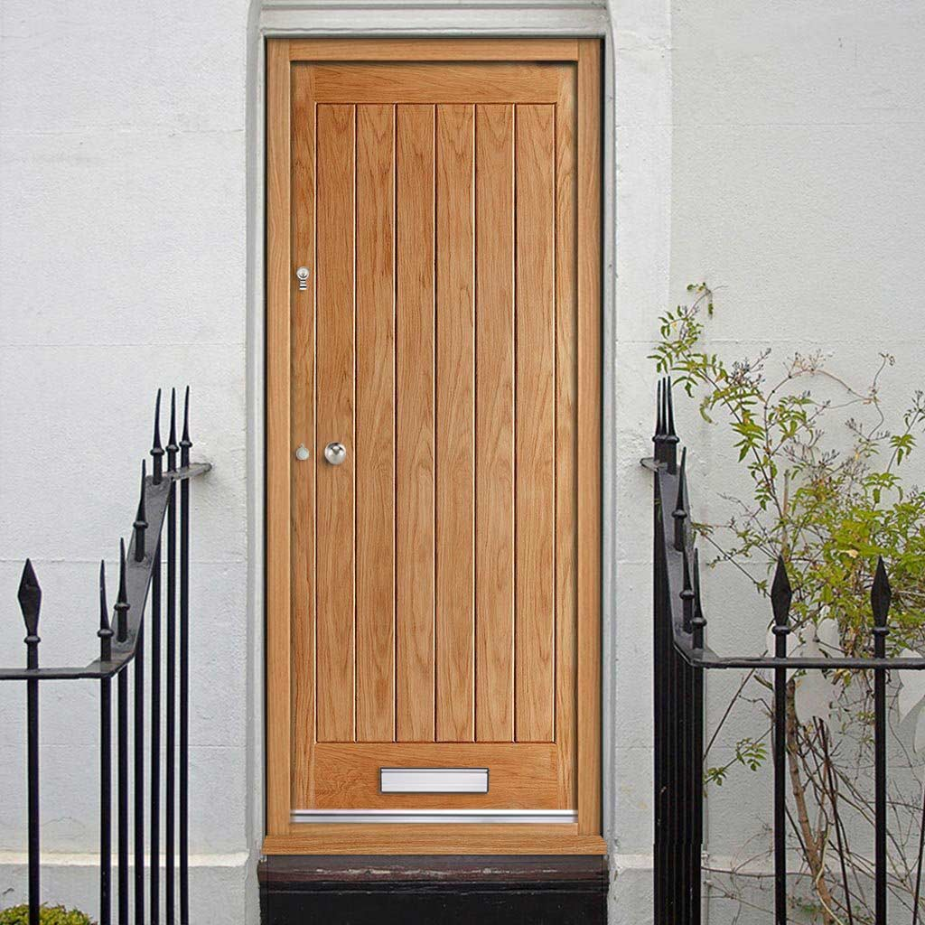 Norfolk External Oak Door