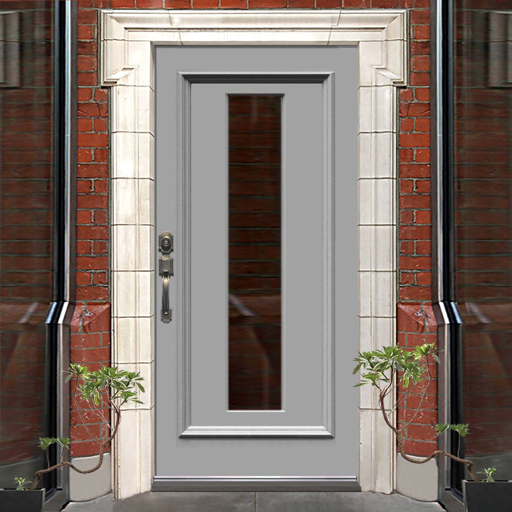 Exterior Victorian Pankhurst Made to Measure Door - Fit Your Own Glass - 1 Pane