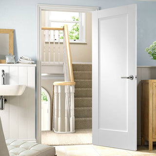 Image: Pattern 10 Style Panel Door - White Primed