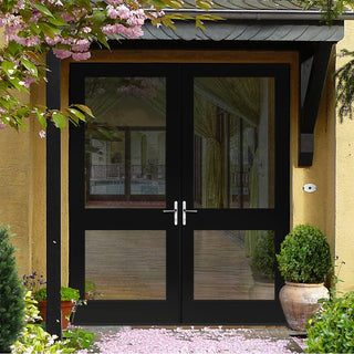 Image: Made to Order External Pattern 2XGG Door Pair with Toughened Double Glazing