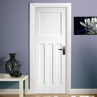 Image: DX30's Style White Primed Panel Door