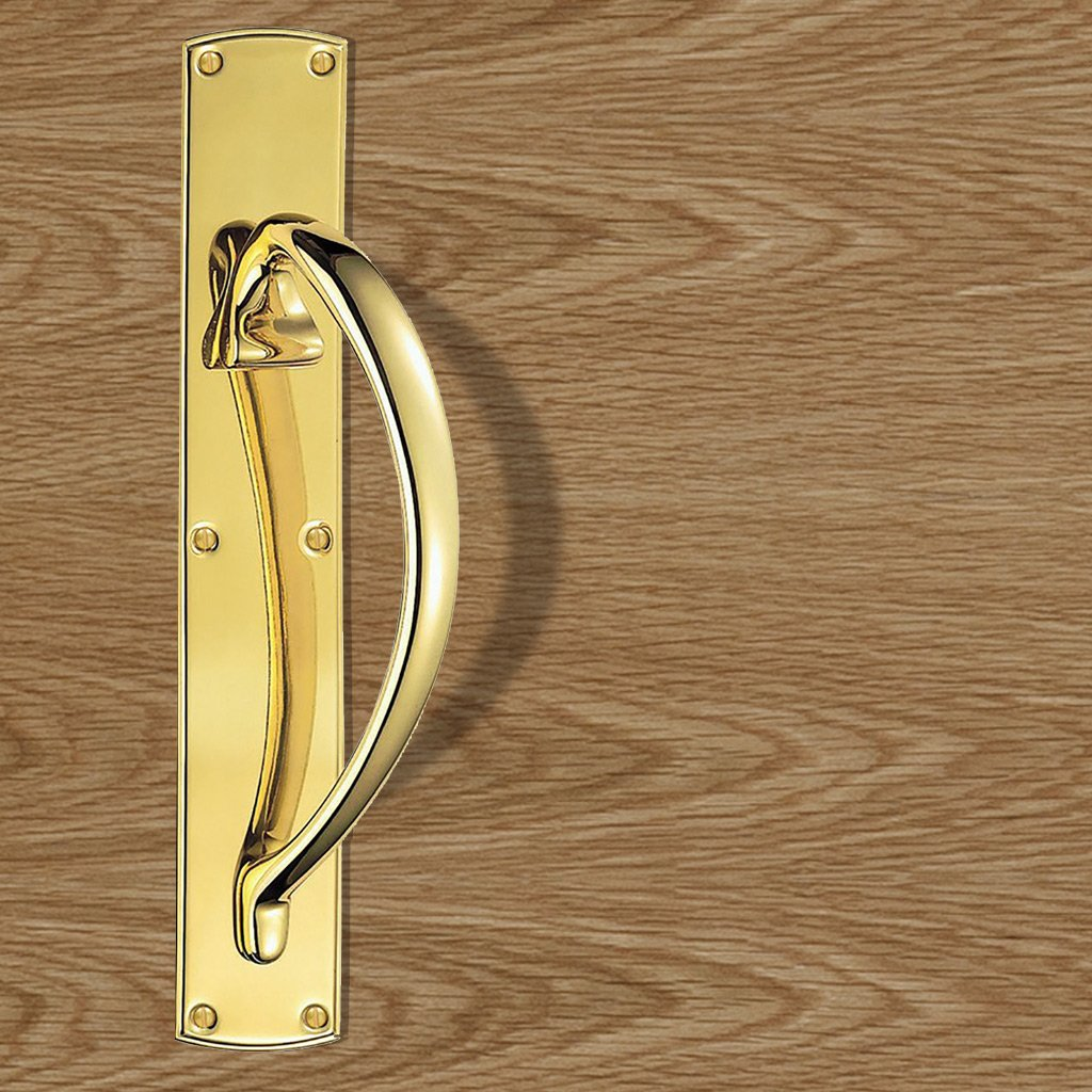 PF100 Pull Handle, Left or Right Handed, 457x76mm - 2 Finishes