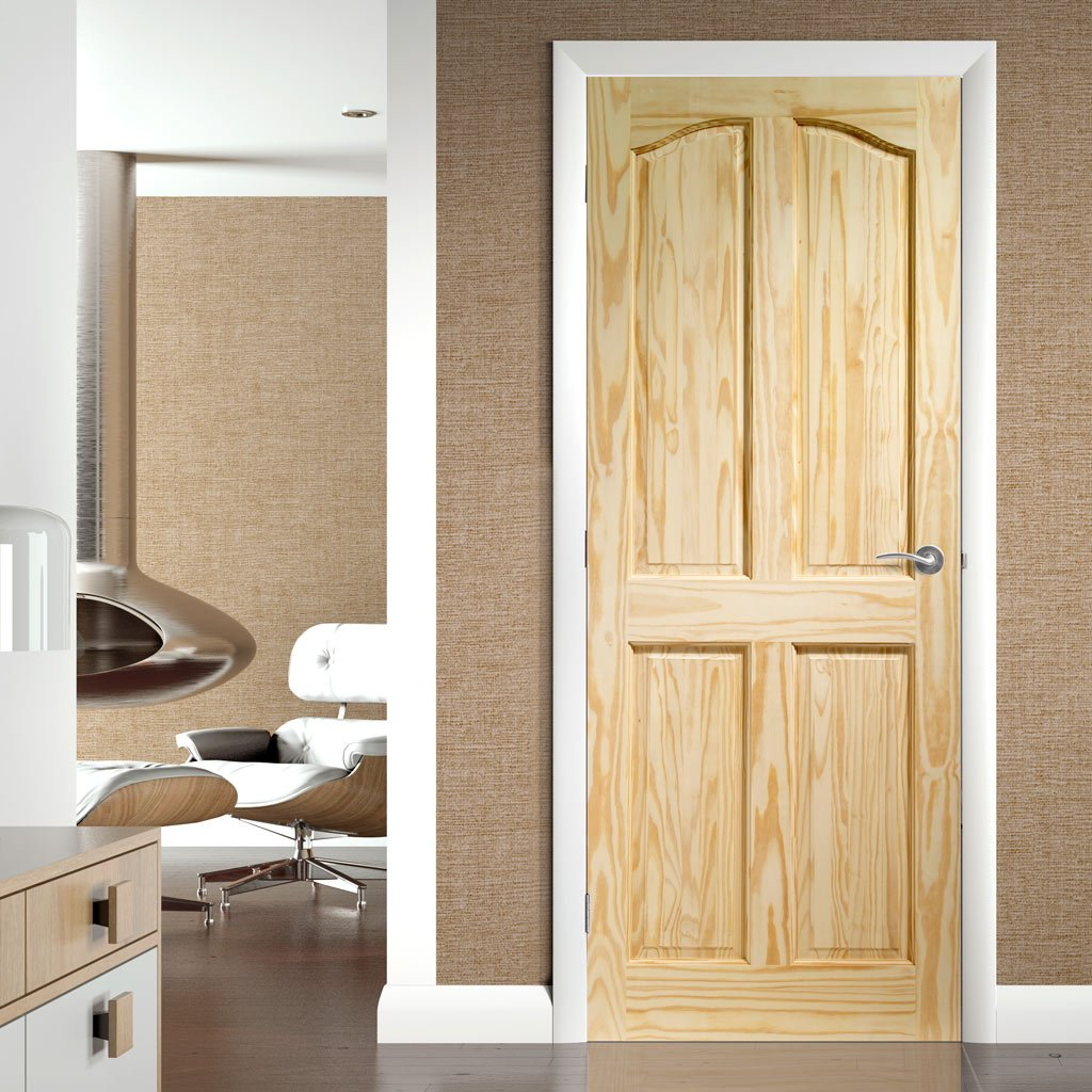 Panelled traditional English interior door