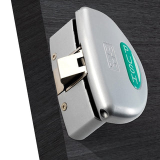 Image: Silver Painted: Panic Push Pad Latch XIA5002