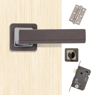 Image: Invictus Bathroom Door Handle Pack
