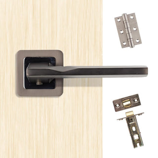 Image: Hadrian Handle Pack - Matt Satin Black